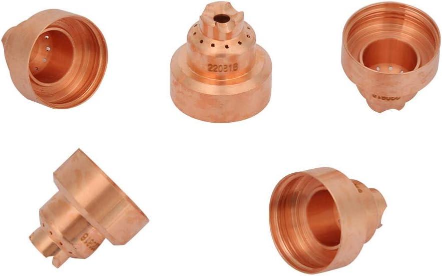 220818 Tapa Protectora de Plasma para la Cubierta Protectora MAX65 5Pcs // Set 85//105 Soplete Cortador de Plasma