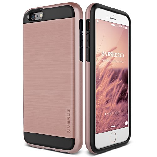 iPhone 6S Case, Verus [Verge][Rose Gold] - [Heavy Duty][Military Grade Drop Protection] for Apple iPhone 6 6S 4.7