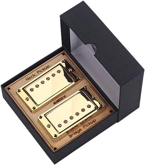 SUPVOX pastillas para guitarra humbucker pastilla de doble bobina ...
