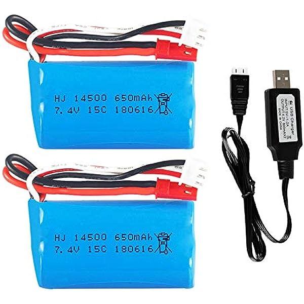 43590 Revell Pelleteuse 2.0 24924 Amewi 22403 efaso Puissance de la Batterie 7,2V 500mAh NI-MH avec Hbx Connecteur pour Huina Excavatrice 1350 1550 Id/ée 18145