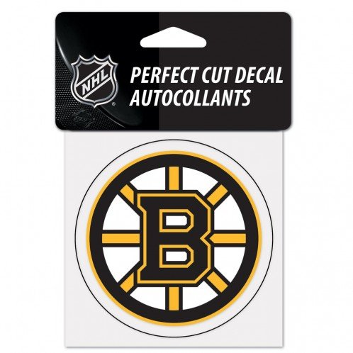 WinCraft NHL Boston Bruins 21861010 Perfect Cut Color Decal, 4