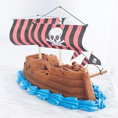 011172592248 - Nordic Ware Pro Cast Pirate Ship Cake Pan carousel main 2
