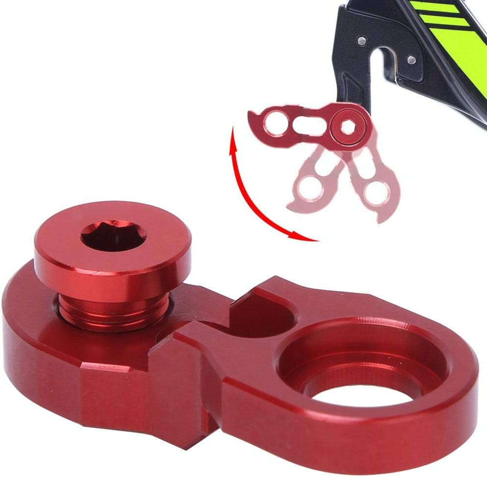 RA105 RISK Bicycle Rear Derailleur Hanger Extension Bike Frame Tail Hook Extender for 34T-52T Keenso Derailleur Hanger Extender