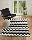 "Summit T2-XDBT-C223 2 New Area Rug Grey Chevron Many Sizes Available , 8 x 10 actual is 7′.4""x10′.6"" Review"