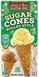 Edward & Sons Trading Co Cones, Sugar, Gluten Free, 4.6 Ounce (Pack of 12)