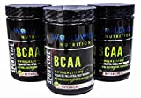 Worldwide Nutrition BCAA Powder, Branched Chain Amino Acids, BCAAs, 2:1:1 Ratio, Pre Intra Post Workout Supplement for Men And Women, Natural Electrolytes to Increase Energy, Watermelon, 30 Servings