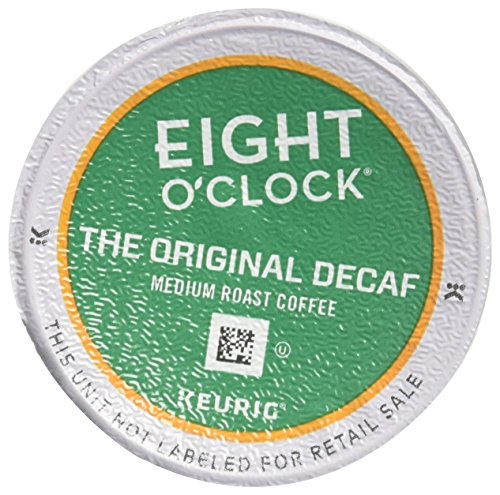 Much Coffee 6 Cup - Eight O'Clock Coffee The Original Decaf, Keurig Single-Serve K-Cup Pods, Medium Roast Coffee, 72 Count (6 Boxes of 12 Pods)