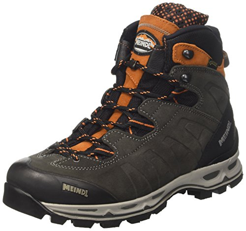 Meindl Air Revolution, Scarpe da Arrampicata Alta Uomo Grigio (Anthrazit /Orange 31)