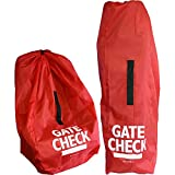 J.L. Childress Check Bags for Umbrella Strollers and Car Seats (Red)