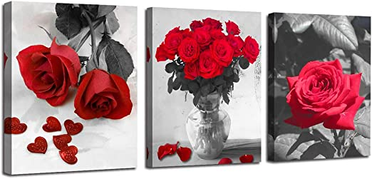 BEAUTIFUL COLOURFUL FLOWERS MODERN WALL ART CANVAS PRINT PICTURE READY TO HANG