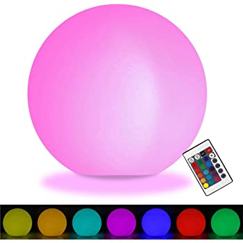 Amazon Com Floating 10 Quot Light Up Led Ball As Seen On The
