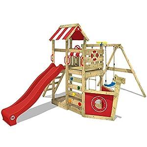 Wickey Spielturm Seaflyer Spielgerät Garten Kletterturm Mit Schaukel
