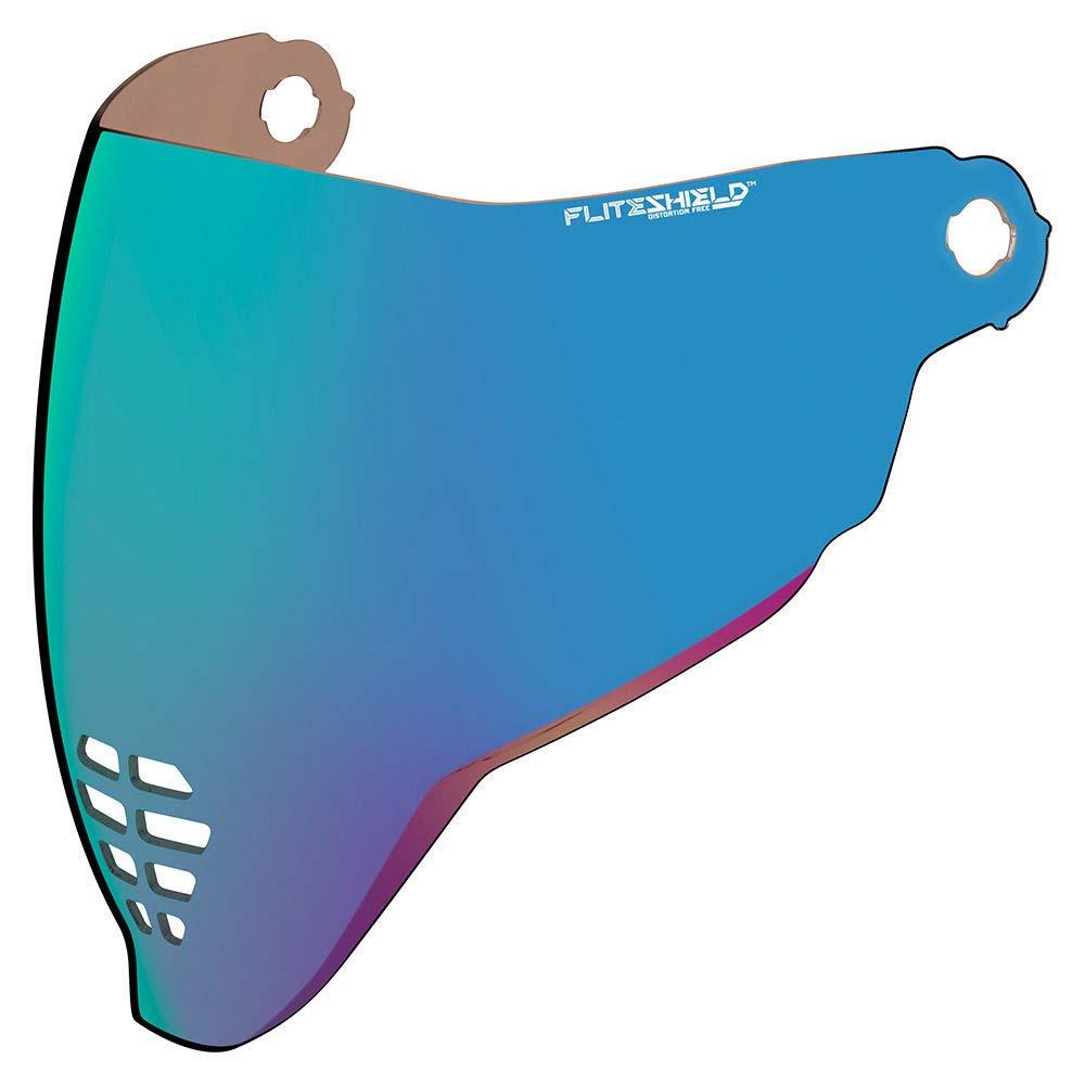 Icon Visiera per motocicletta Airflite blu a specchio