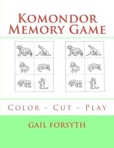 Komondor Memory Game: Color - Cut - Play pdf