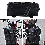 Dandelionsky-Borsa-Bicicletta-Posteriore-Portapacchi-Impermeabile-Borsa-per-Bicicletta-Posteriore-e-Anteriore-Borse-Refrigeranti-per-Baule-da-Ciclismo-Multi-Funzione-oer-Equitazione-a-Lunga-Distanza