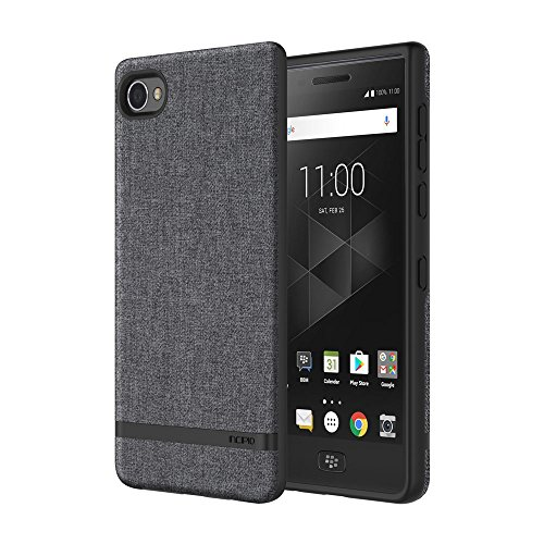 Incipio Carnaby BlackBerry Motion Case [Esquire Series] with Co-Molded Design and Ultra-Soft Cotton Finish for BlackBerry Motion - (Incipio Blackberry)