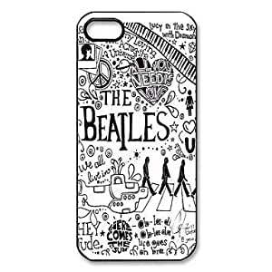 Mystic Zone Popular Band The Beatles Pattern Plastic Hard Case for iPhone 5/5S by runtopwell