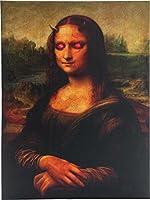 目が光る モナリザ アートフレーム 壁飾り ホラー グッズ ハロウィン インテリア デコレーション 飾り 装飾 [並行輸入品]