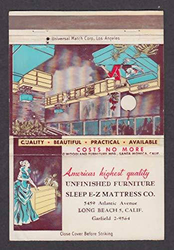 Unfinished Furniture Sleep E-Z Mattress 5459 Atlantic Long Beach CA matchcover