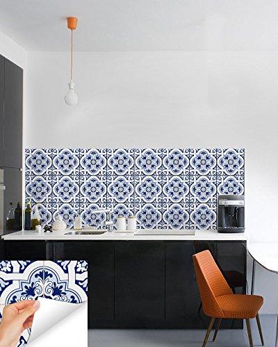 cobalt blue 6x6 tile portuguese tile amazoncom