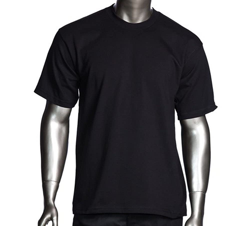 bcbc3434 Men's proclub Heavy Weight solid crewneck short sleeve shirts | Amazon.com