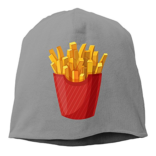 ACMIRAN French Fries Unisex Fashion Turtleneck Cap One Size DeepHeather (Dwight Fryer compare prices)
