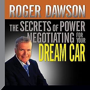 The Secrets of Power Negotiating for Your Dream Car Speech
