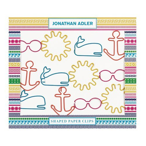 Jonathan Adler Shaped Paper Clips - Architectural Borders