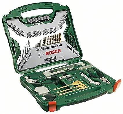 Bosch X Line Titanio Maletín de unidades para taladrar y atornillar