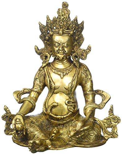 yoga figurines made of bronze - 6