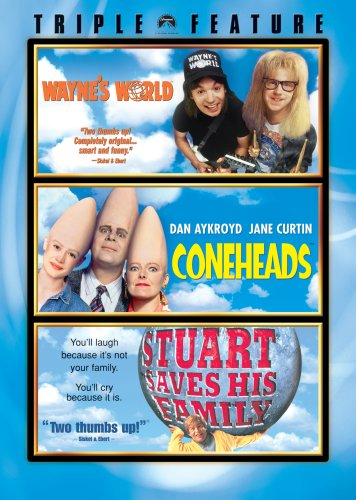 Wayne's World / Coneheads / Stuart Saves His Family (Triple Feature) (A Hot Dog Program)