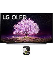 $1296 » LG OLED48C1PUB 48 Inch 4K Smart OLED TV 2021 Model Bundle with Premium 2 Year Extended Protection Plan
