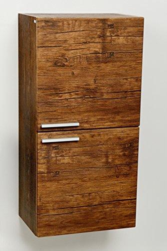mobile bagno pensile mobiletto armadio alto bagno antico wood premontato