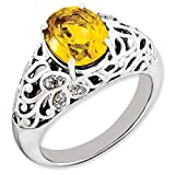 Top 10 Jewelry Gift Sterling Silver Stackable Expressions High 5mm January Swarovski Ring