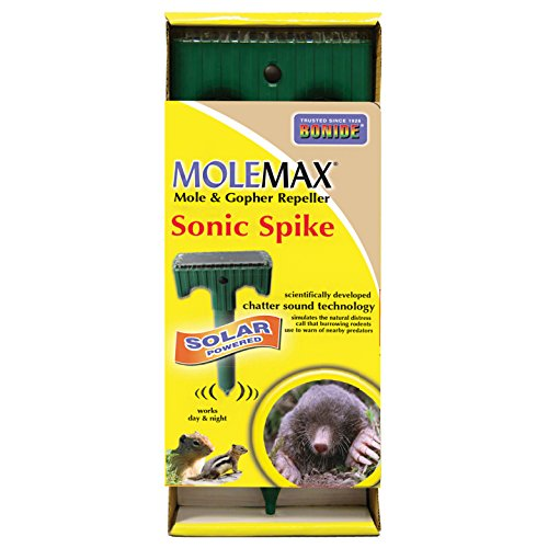 Bonide PRODUCTS INC 037321611196 61119 Mole Repellent Stake,
