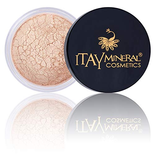 (Face Illuminating Metallic Mica Powder Shimmer highlighter & Contour By Itay Mineral Cosmetics 9 Gram (SUPERNOVA #3))