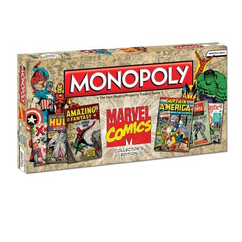 Monopoly: Marvel Comics Collector's Edition -