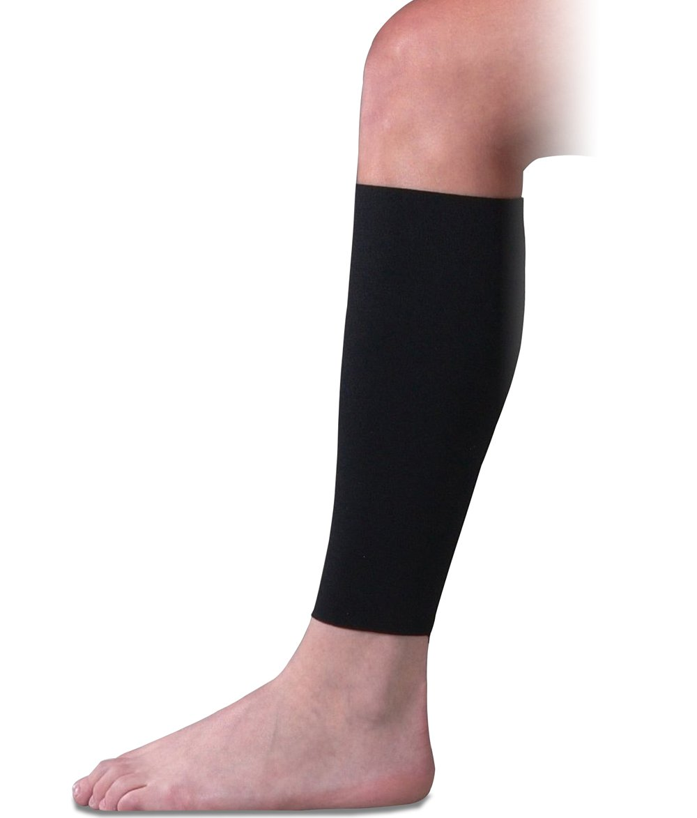 Compression Shin Sleeve for Shin Splints, Circulation and Travel, XL