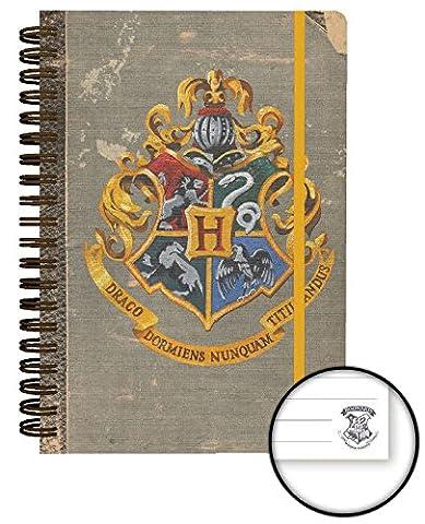 Harry Potter Notebook A5 Hogwarts Case (12) (Scuola Di Hogwarts Serpeverde Casa)