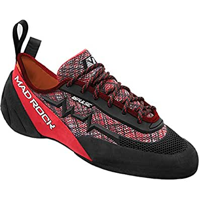 Mad Rock Pulse Negative Climbing Shoe Red/Black, 10.0