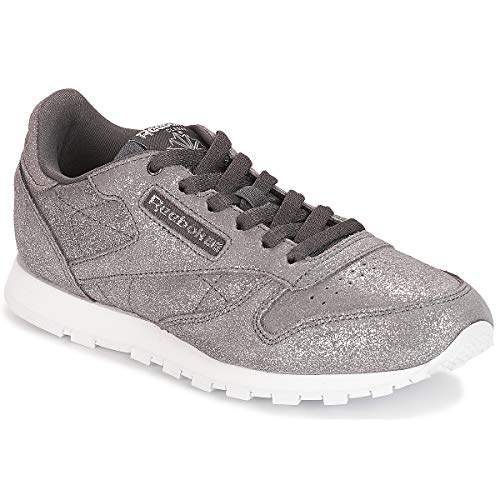 0 Fitness Leather w pewter Chaussures ash De Reebok Grey ms Femme Multicolore Classic IA47wxqw6