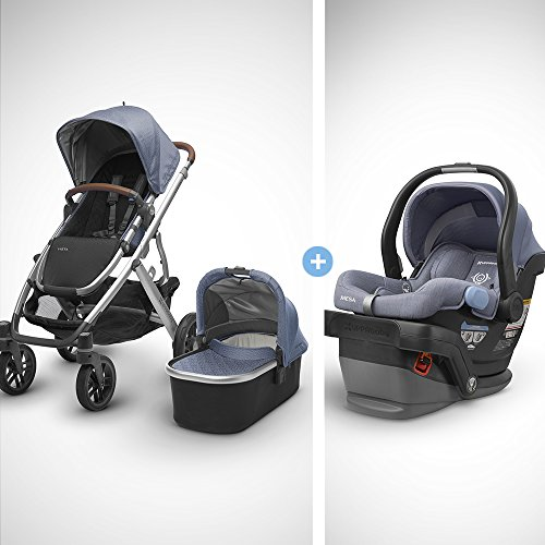UPPAbaby Full-Size Vista Infant Baby Stroller & MESA Car Seat Bundle (Henry) (Best Deal On Uppababy Vista)