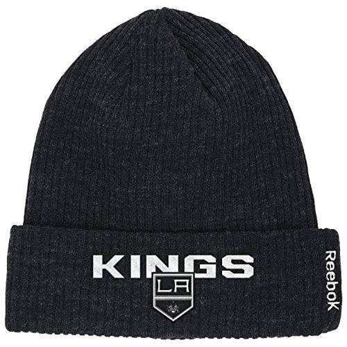 ff5f3986e85 ... ireland amazon los angeles kings cuffed reebok knit hat beanie osfa  kr70z sports outdoors 19d7d d904a ...
