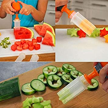 Amazon Com 6 Pcs Fruit Vegetable Tools Salad Carving Decorating