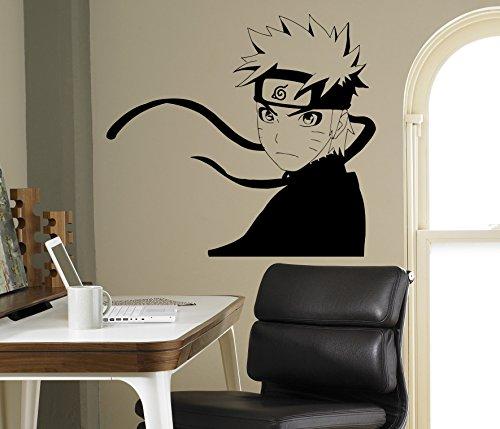 Japanese Manga Wall Decal Naruto Wall Vinyl Sticker Anime Style Home Interior Removable Decor Custom Decals 5(nto)