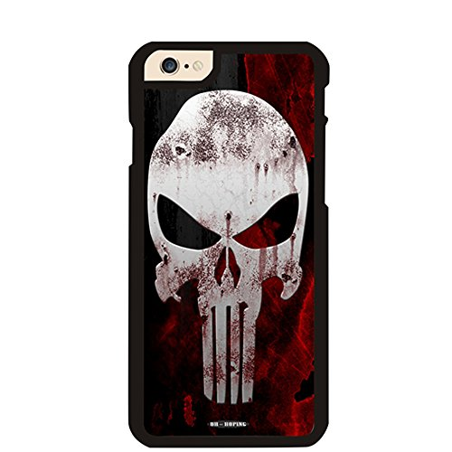 Iphone 6 Plus Case, DH-hoping (TM) Cellphone Case for Iphone 6 Plus 5.5 Inch High Impackt Combo Hybrid Hard Pc & Metal Aluminum Protective Case with Luxurious Pattern (the skull - Burch Clearance Tory