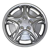 2009 toyota corolla s hubcaps - TuningPros WC2-15-5028-S 15-Inches-Silver Improved Type II Hubcaps Wheel Skin Cover Set of 4