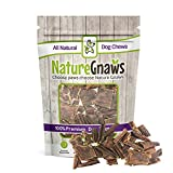 Cheap Nature Gnaws Beef Jerky Trail Mix (12 oz) – 100% Natural Grass Fed Beef Dog Chews – Small Dogs & Light Chewers