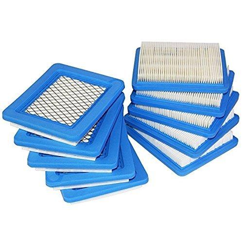 Pack de 10 filtros de aire de repuesto para Briggs Stratton 491588 ...