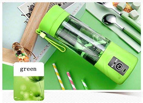 AN-LKYIQI USB Pequeño exprimidor portable casero mini máquina eléctrica de la máscara del juicer de la fruta , light green: Amazon.es: Deportes y aire libre